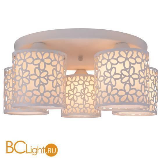 Потолочная люстра Arte Lamp Traforato A8349PL-5WH