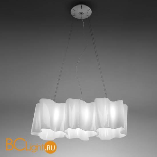 Подвесной светильник Artemide Logico sospensione mini 3 in linea 0697020A
