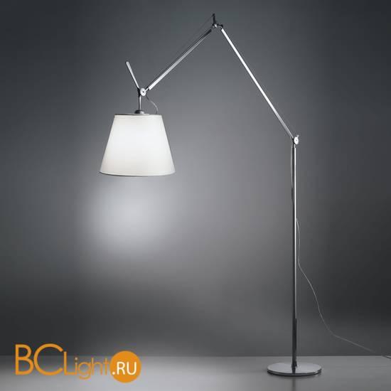 Торшер Artemide Tolomeo mega LED aluminium 0761010A + 0780020A + 0763010A