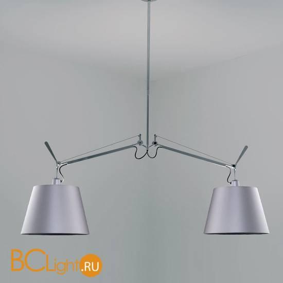 Подвесной светильник Artemide Tolomeo suspension basculante 0630010A + 0781010A