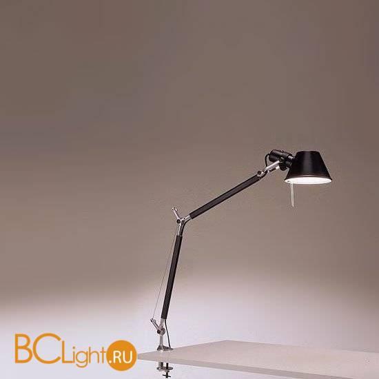 Настольная лампа Artemide Tolomeo mini table halo black A005940 + A004100