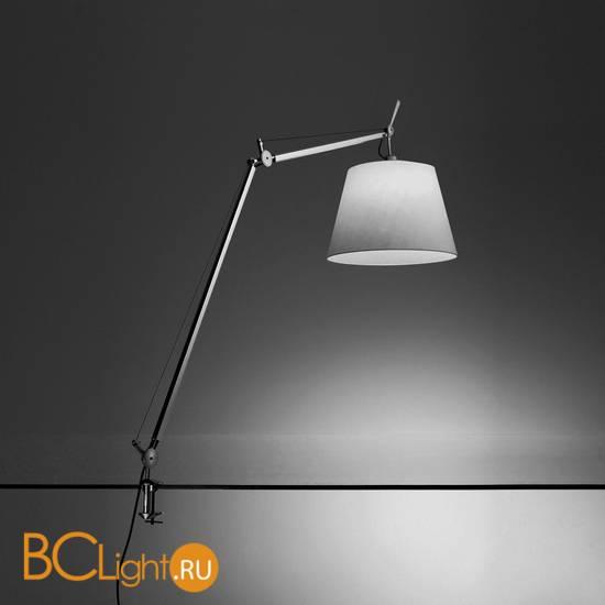 Настольная лампа Artemide Tolomeo mega tavolo halo aluminio with dimmer 0778010A + A004100 + 0781030A