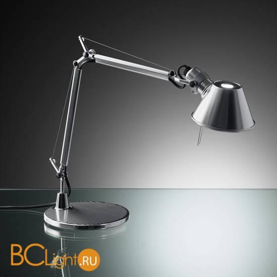 Настольная лампа Artemide Tolomeo Halo aluminium A001000 + A004030