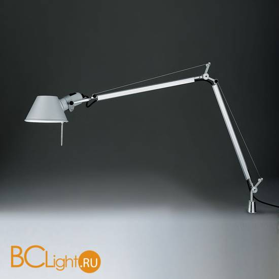 Настольная лампа Artemide Tolomeo midi halo aluminium A001000 + A004200