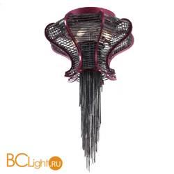 Потолочный светильник Baga Bespoke Sinuosa SN05 M07 Black nickel