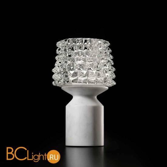 Настольная лампа Barovier&Toso Camparino 7359/CC/MW