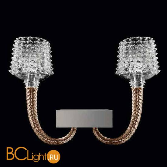 Бра Barovier&Toso Florian 5717/02/BW/CL