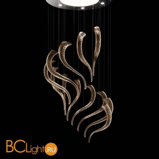 Подвесной светильник Barovier&Toso Swing 7324/BW