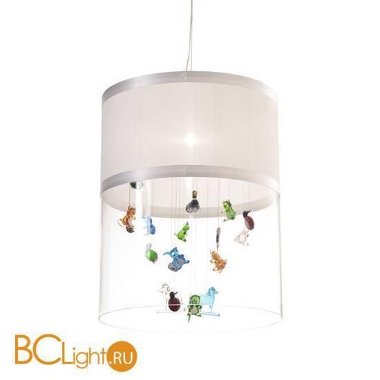 Подвесной светильник Beby Group Beby baby 0125B01 White Leather 01 316