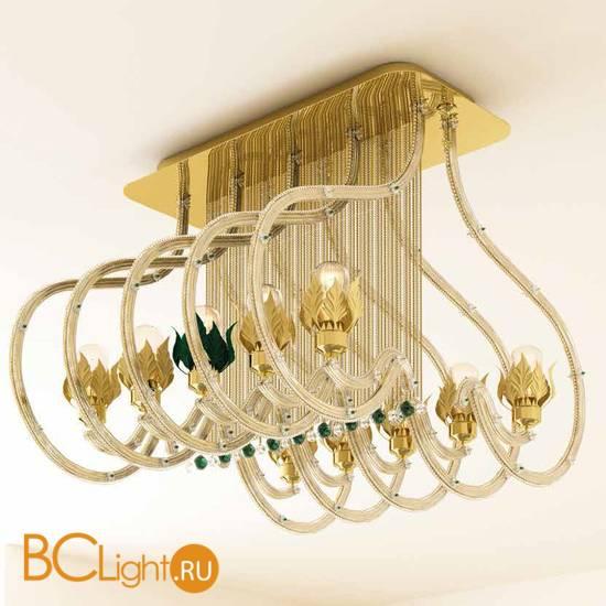 Потолочная люстра Beby Group Beby Resort 3400B04 Light Gold