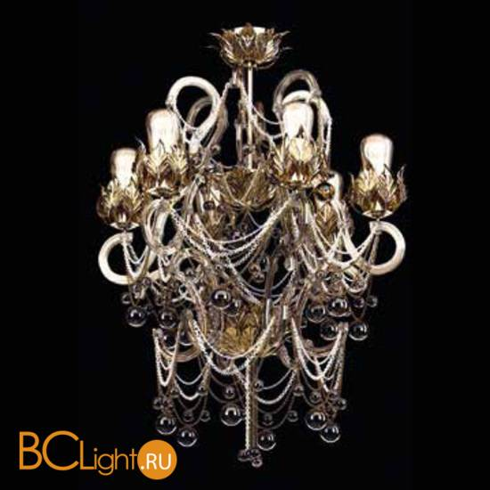 Потолочная люстра Beby Group Beby Resort 3400B07 Satin Gold
