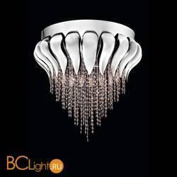 Потолочный светильник Beby Group Bouquet 5200Q02 Chrome White Charmante Acquamarine