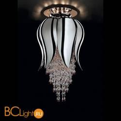 Потолочный светильник Beby Group Bouquet 5200B11 Chrome Chrome Red
