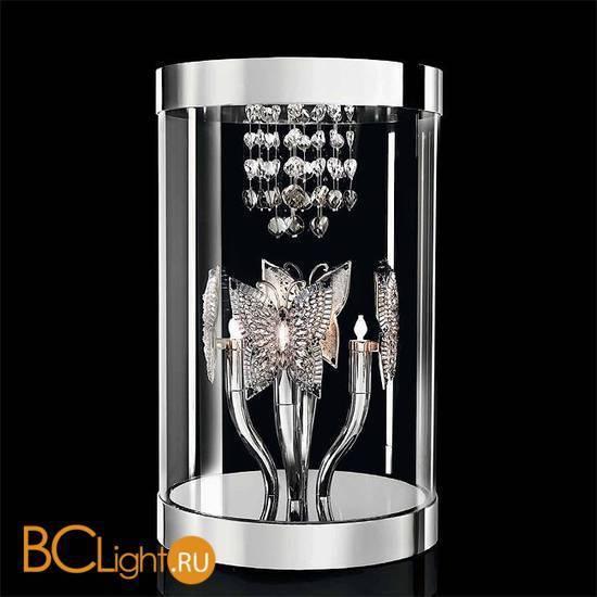 Настольная лампа Beby Butterfly 0190L01 Chrome SW Silver Night