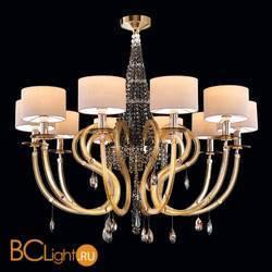 Потолочная люстра Beby Group Crystal rain 0230B02 Light gold 666 SW Golden Teak