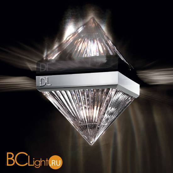 Спот (точечный светильник) Beby Group Crystal sand 5100F01 Satin chrome