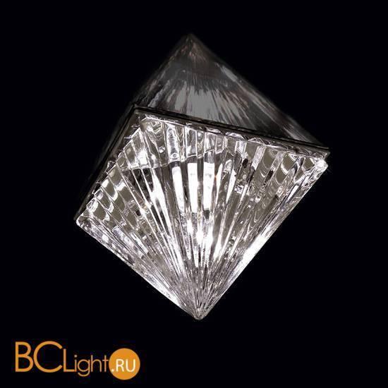 Спот (точечный светильник) Beby Group Crystal sand 5100F02 Chrome