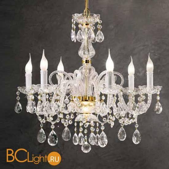 Люстра Beby Group Crystal 330/6 Light gold CUT CRYSTAL