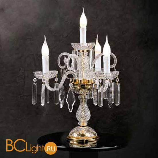 Настольная лампа Beby Group Crystal 360/4L Light gold HALF CUT
