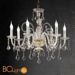 Люстра Beby Group Crystal 300/6 Light gold CUT CRYSTAL