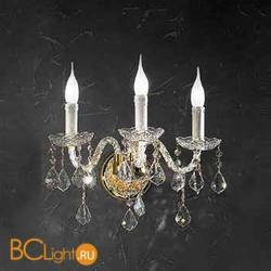 Бра Beby Group Crystal 310/3A Light gold CUT CRYSTAL