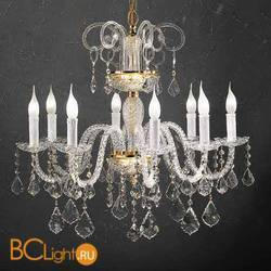 Люстра Beby Group Crystal 310/8 Light gold CUT CRYSTAL