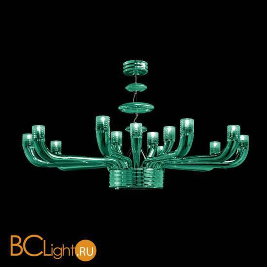 Люстра Beby Group Diadema 5450B07 Chrome Emerald