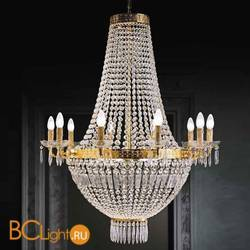 Люстра Beby Group Empire 1500/10+6 Light gold CUT CRYSTAL