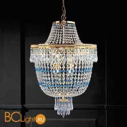 Подвесной светильник Beby Group Empire 1581/12 Light gold SWAROVSKI ELEMENTS