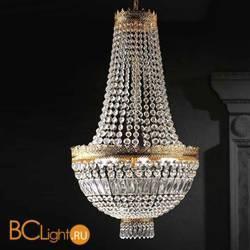 Подвесной светильник Beby Group Empire 1400/6 Light gold CUT CRYSTAL