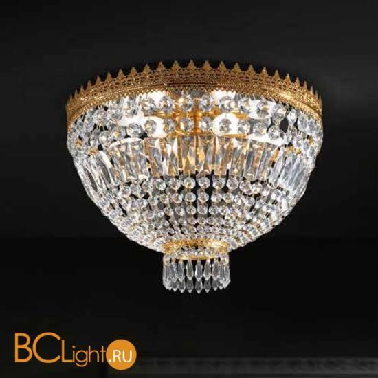 Потолочный светильник Beby Group Empire 1300/3 Light gold CUT CRYSTAL
