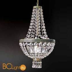 Подвесной светильник Beby Group Empire 1000/1 Green Gold CUT CRYSTAL