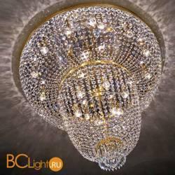 Потолочный светильник Beby Group Empire 1570/12+6PL Light gold CUT CRYSTAL