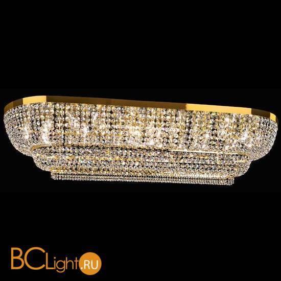Потолочный светильник Beby Group Empire 1555/34PL Light gold CUT CRYSTAL