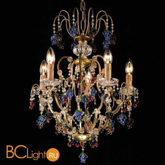 Люстра Beby Group Fruit 110/5 Gold Paint multi murano