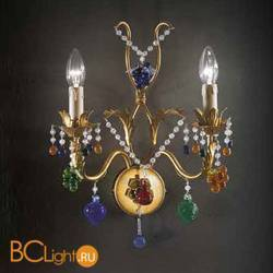 Бра Beby Group Fruit 113/2A Satin Gold multi murano