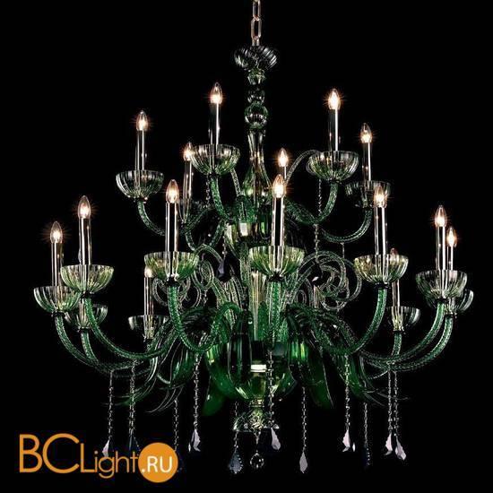 Люстра Beby Group Garden Party 7800B01 Light gold Green Tuscany Swarovski Plaque