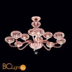Потолочная люстра Beby Group Gloss 7720B04 Chrome Rosa Vintage