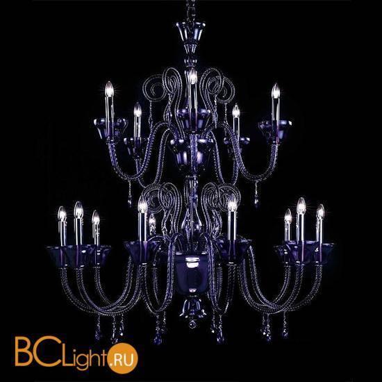 Люстра Beby La Femme 7700B05 Chrome Violet SW Blu Violet