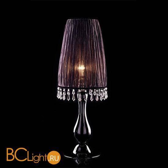 Настольная лампа Beby La Femme 7700L01 Chrome Dark rome 397 Swarovski Almond