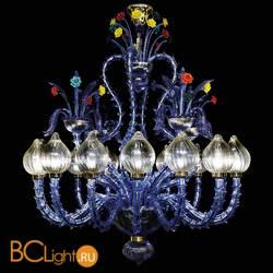 Потолочная люстра Beby Group La fleur sauvage 7130B02 Sapphire Golden Portoino