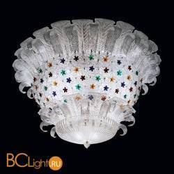 Потолочный светильник Beby Group Mademoiselle Corolle 8000Q02 Chrome Trasparent graniglia Glass