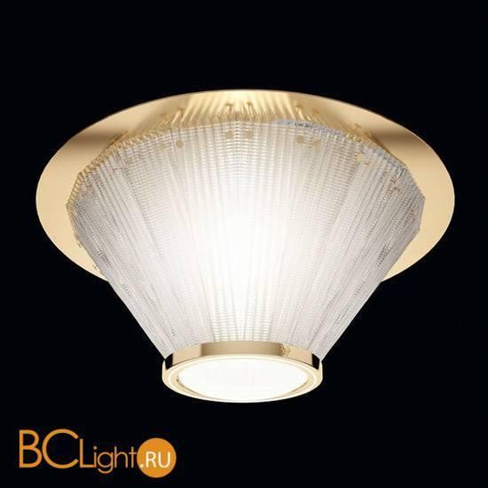 Потолочный светильник Beby Group Milano Deco 8030Q07 Light gold Transparent Glass