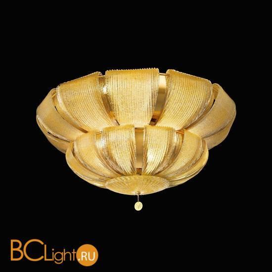 Потолочный светильник Beby Group Milano Deco 8010Q01 Light gold Amber