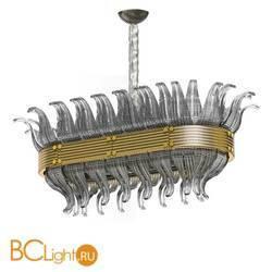 Подвесной светильник Beby Group Milano Deco 8030B03 Light gold Smoked Glass