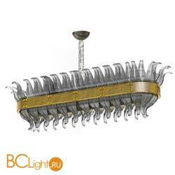 Подвесной светильник Beby Group Milano Deco 8030B05 Light gold Smoked Glass