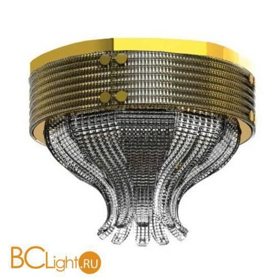 Потолочный светильник Beby Group Milano Deco 8030Q01 Light gold Smoked Glass