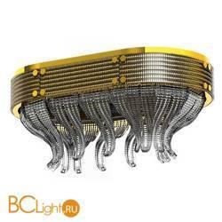 Потолочный светильник Beby Group Milano Deco 8030Q02 Light gold Smoked Glass