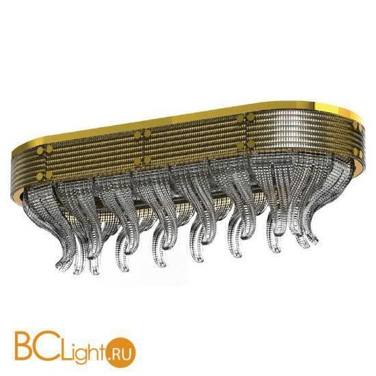 Потолочный светильник Beby Group Milano Deco 8030Q03 Light gold Smoked Glass
