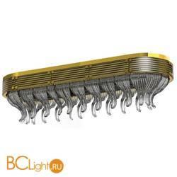 Потолочный светильник Beby Group Milano Deco 8030Q04 Light gold Smoked Glass